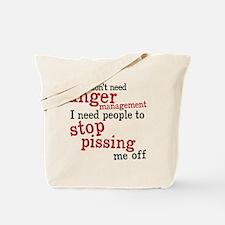 angermanagement Tote Bag