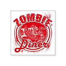 """zombiediner Square Sticker 3"""" x 3"""""""