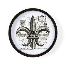 New Orleans Laissez les bons temps roul Wall Clock