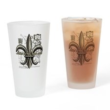 New Orleans Laissez les bons temps  Drinking Glass