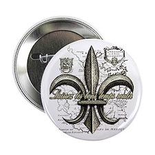 """New Orleans Laissez les bons temps ro 2.25"""" Button"""