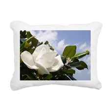 Magnolia In Heaven Rectangular Canvas Pillow