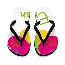 Eileen-the-butterfly Flip Flops