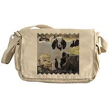 Twin goats Messenger Bag