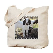 Twin goats Tote Bag