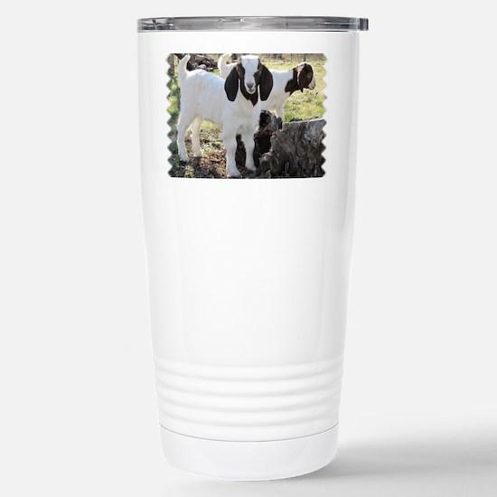 Twin goats Stainless Steel Travel Mug
