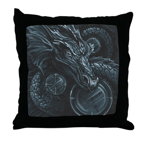 Time Hoarder II Throw Pillow