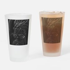 Time Hoarder III Drinking Glass