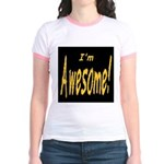 Awesome Designs Jr. Ringer T-Shirt