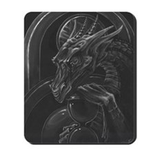 Time Hoarder III Mousepad