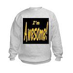 Awesome Designs Kids Sweatshirt