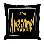 Awesome Designs Throw Pillow