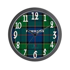 Forsyth Clan Wall Clock