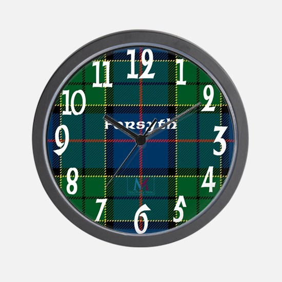 Forsyth Clan Wall Clock