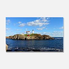 Nubble Light House (Cape Neddic Car Magnet 20 x 12