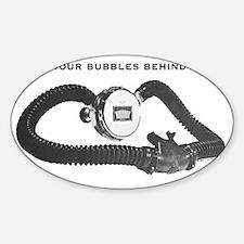 royalbubbles Sticker (Oval)
