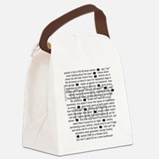 characteristics mom Canvas Lunch Bag