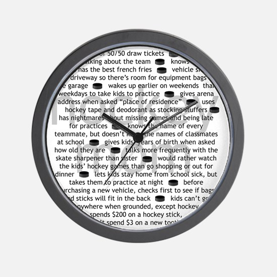 characteristics mom Wall Clock