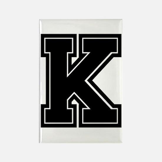K Rectangle Magnet