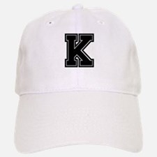 K Baseball Baseball Cap