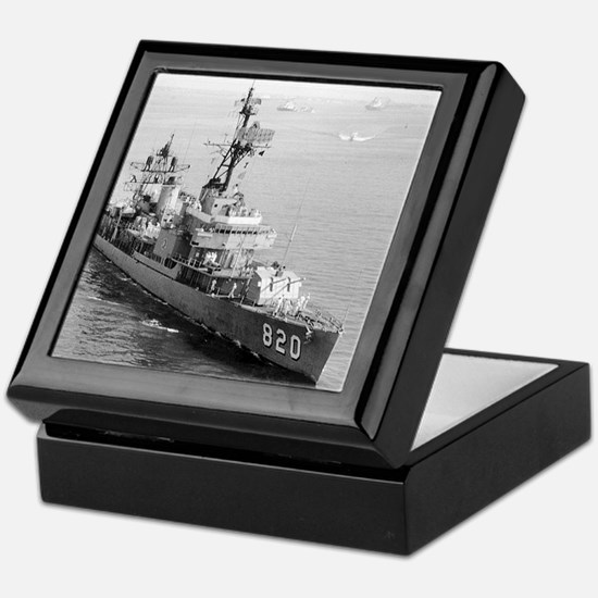 rich dd framed panel print Keepsake Box