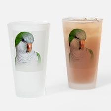 Green Quaker Drinking Glass