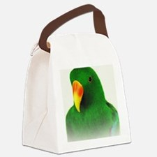 Male Eclectus Canvas Lunch Bag