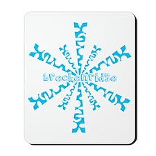 SnowflakeRetroBreckenridge Mousepad