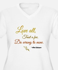Love All ... Plus Size T-Shirt