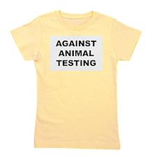 animaltestingW.jpg Girl's Tee