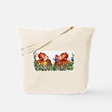 Baby Chimp Love Tote Bag