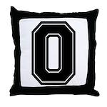 O Throw Pillow