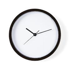 TransForm Sq Frt Wht Wall Clock