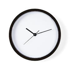TransForm Back Wht Wall Clock