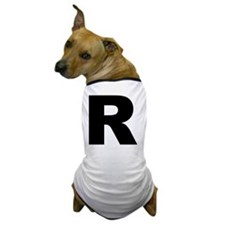 arial-black-black-r Dog T-Shirt