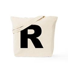 arial-black-black-r Tote Bag