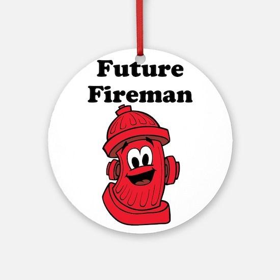 Future Fireman Ornament (Round)