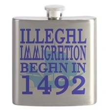 1492-blue-bb-blue Flask