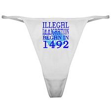 1492-blue-bb-blue Classic Thong