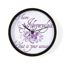 fibro4 Wall Clock