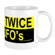check twice cafe press bumper sticker Mug