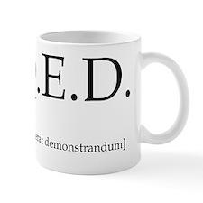 qed-apparel Small Mug