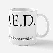 qed-throw_pillow Mug