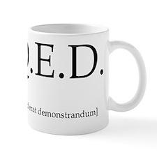 qed-throw_pillow Small Mug