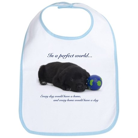Perfect World (Lab) Bib