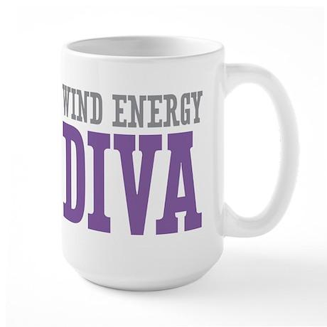 Wind Energy DIVA Large Mug