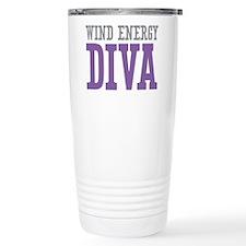 Wind Energy DIVA Travel Coffee Mug