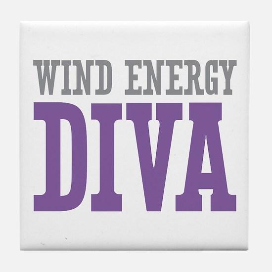 Wind Energy DIVA Tile Coaster