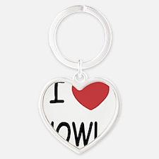 HOWLS Heart Keychain