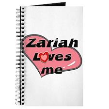 zariah loves me Journal